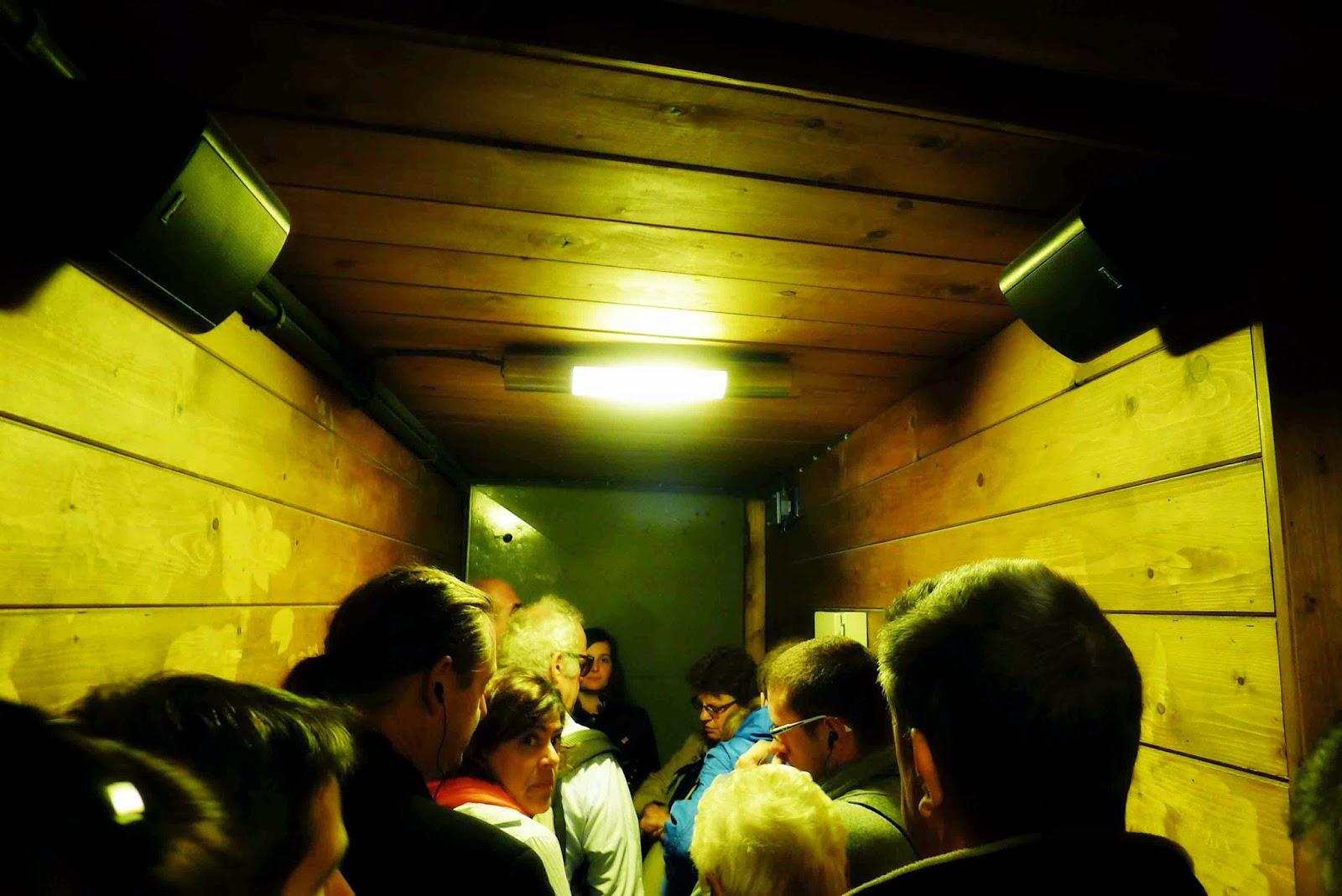 Wieliczka Salt Mine Elevator
