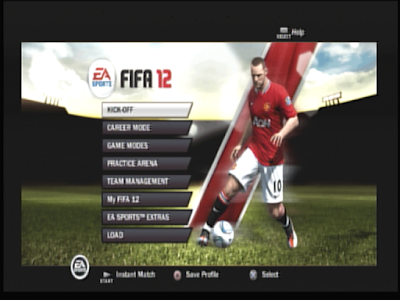 Main Menu Mode