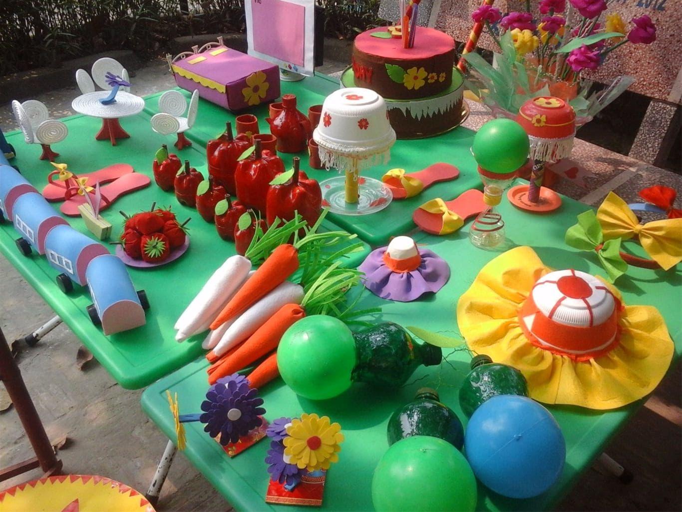 Đồ dùng đồ chơi sáng tạo cho trẻ mầm non