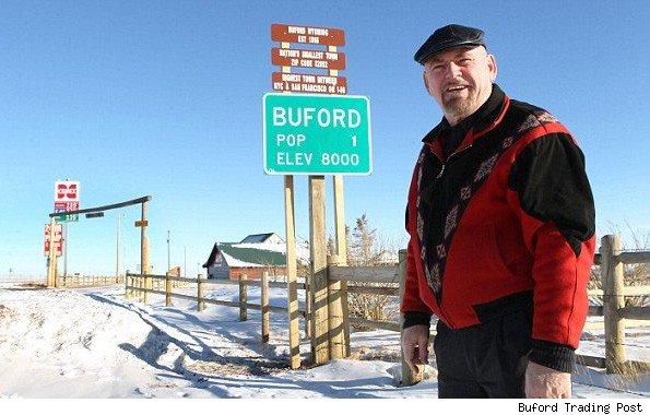 kota buford di amerika yang dihuni oleh satu orang