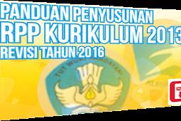 Inilah Format Baru RPP Kurikulum 2013 Revisi Tahun 2016