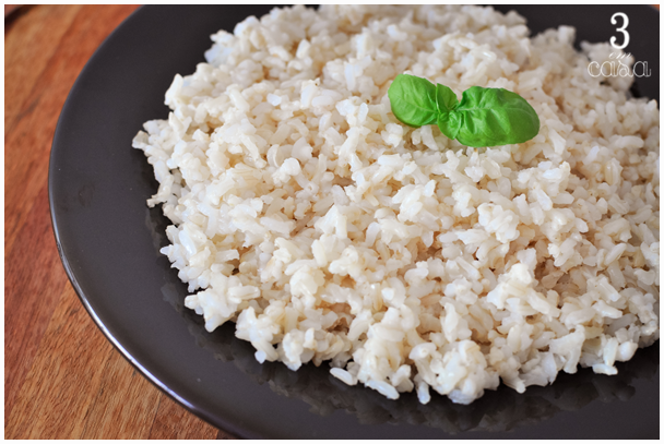arroz integral receita