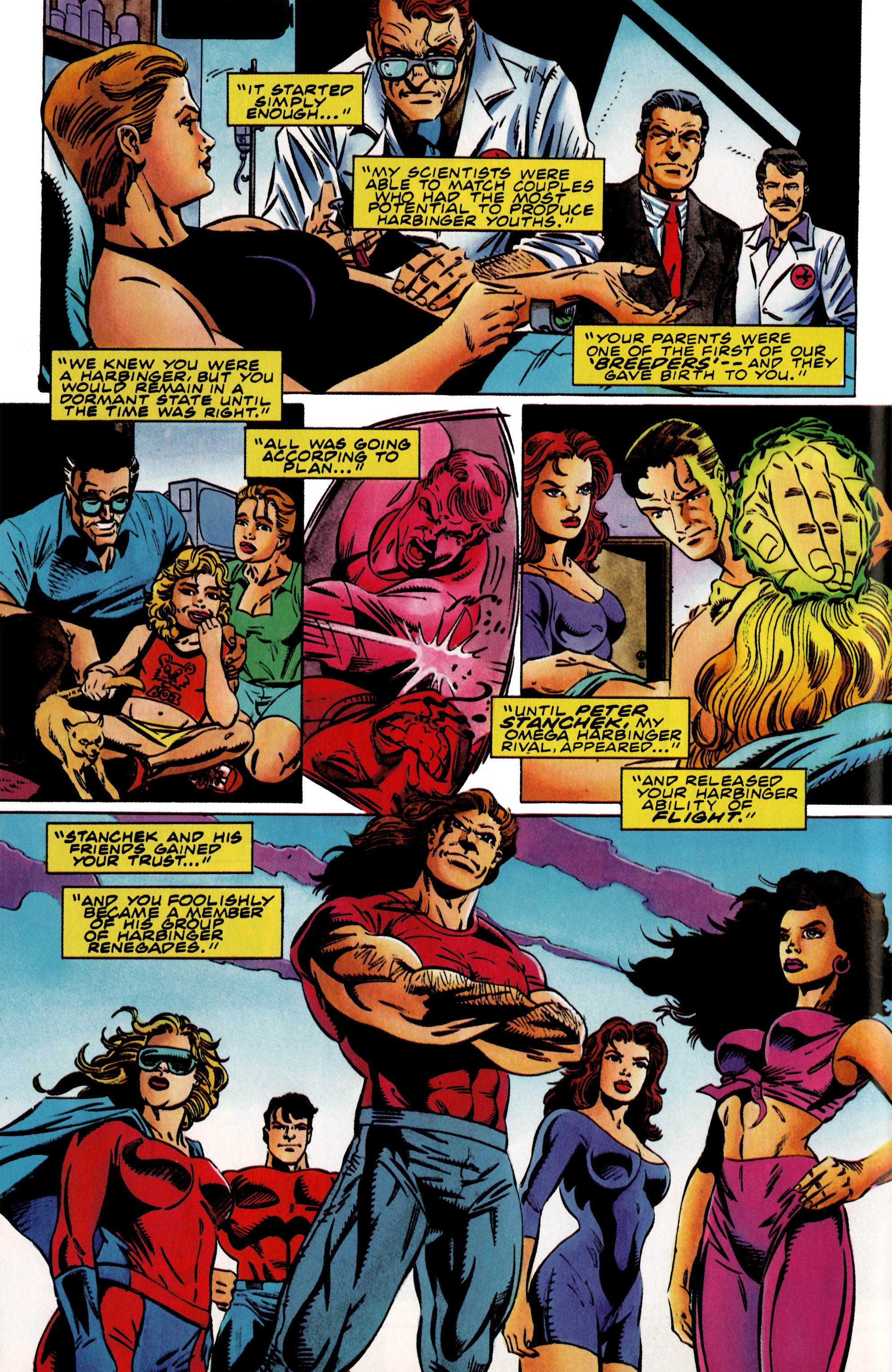 Read online Harbinger (1992) comic -  Issue #37 - 8