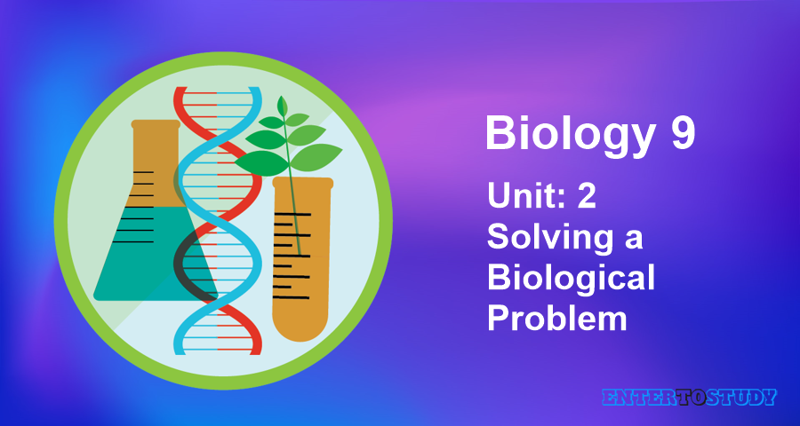 KIPS 9th Class Biology Notes Unit 2: Solving a Biological Problem