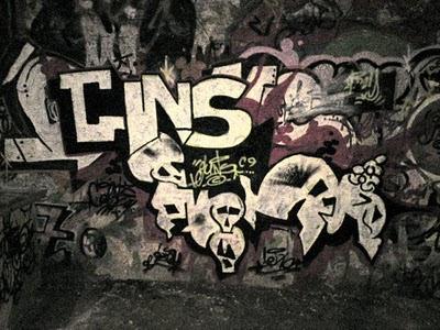 Grafity Art Graffiti Skull Style Wallpaper
