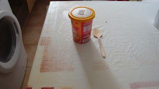 La préparation d'argile