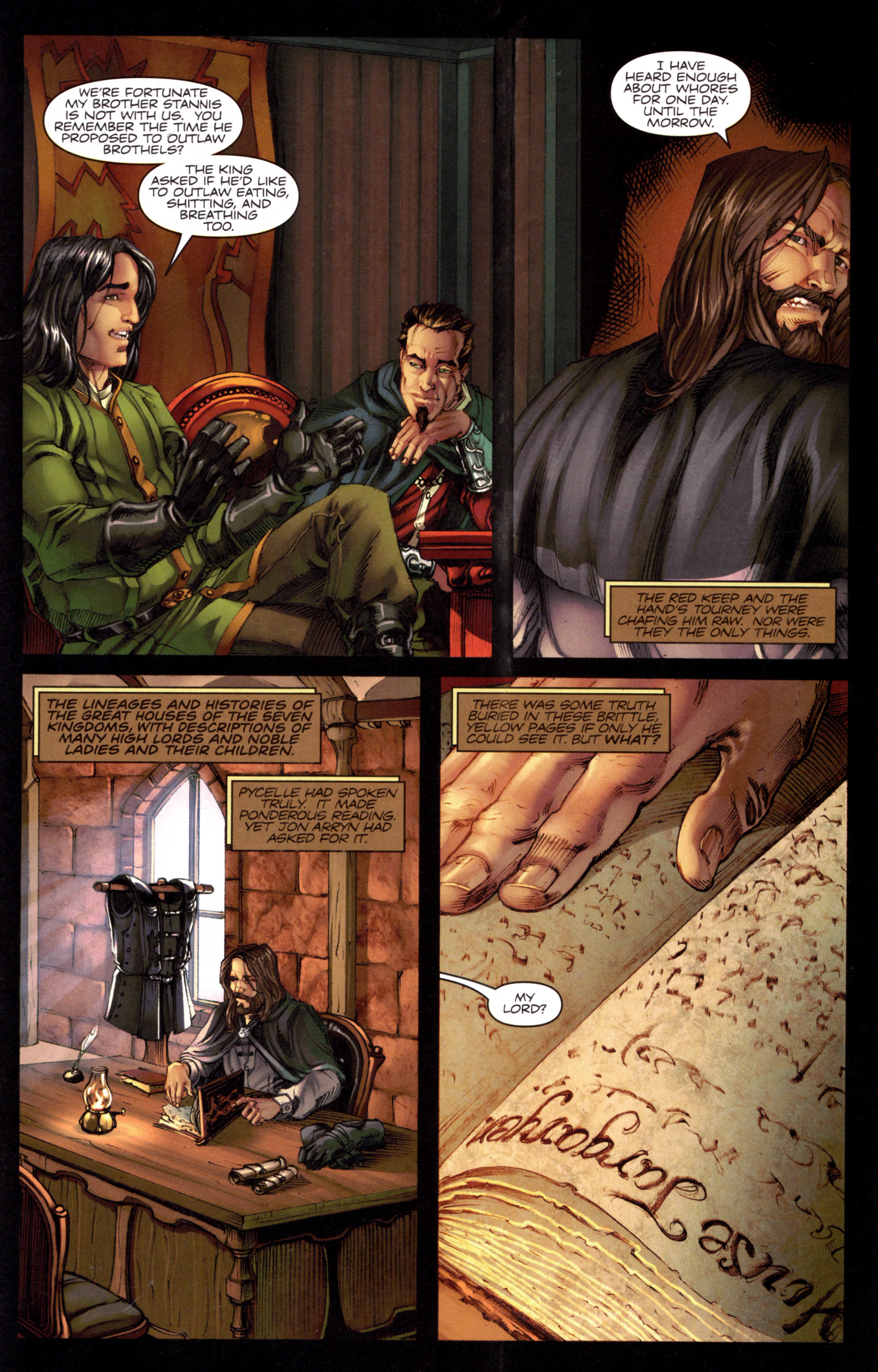 Read online A Game Of Thrones comic -  Issue #8 - 25