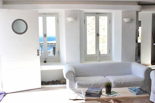 Rocabella Mykonos Art Hotel & SPA white interior