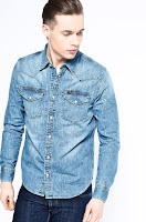 Camasa din denim • Lee