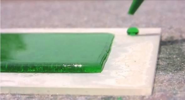 ¿Un revestimiento que repele liquido en su totalidad? No lo vas a creer