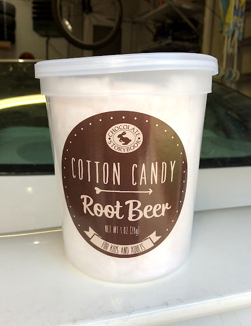 Chocolate Storybrook Root Beer Cotton Candy