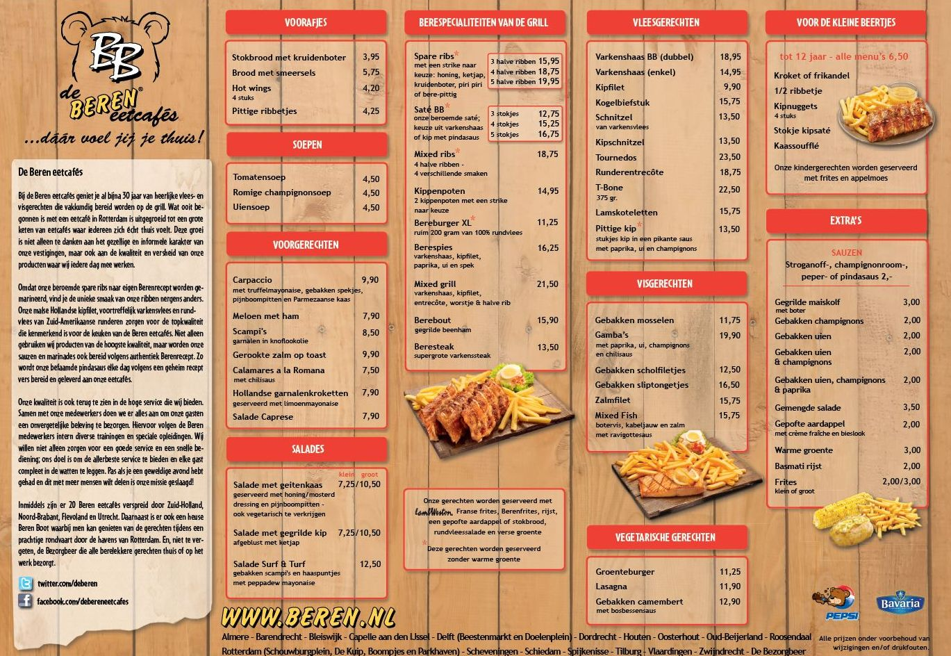 But N Ben Restaurant Menu