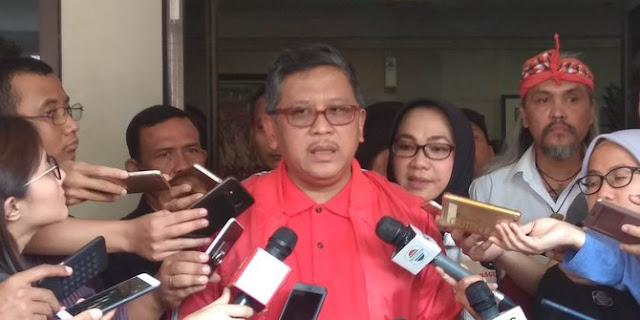KPU larang Ma'ruf ke ponpes, Hasto sebut yang penting tidak ada politik uang