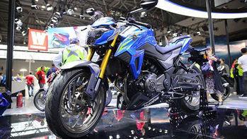 Penantang Baru Kawasaki Z250, Suzuki  Haojue DR300