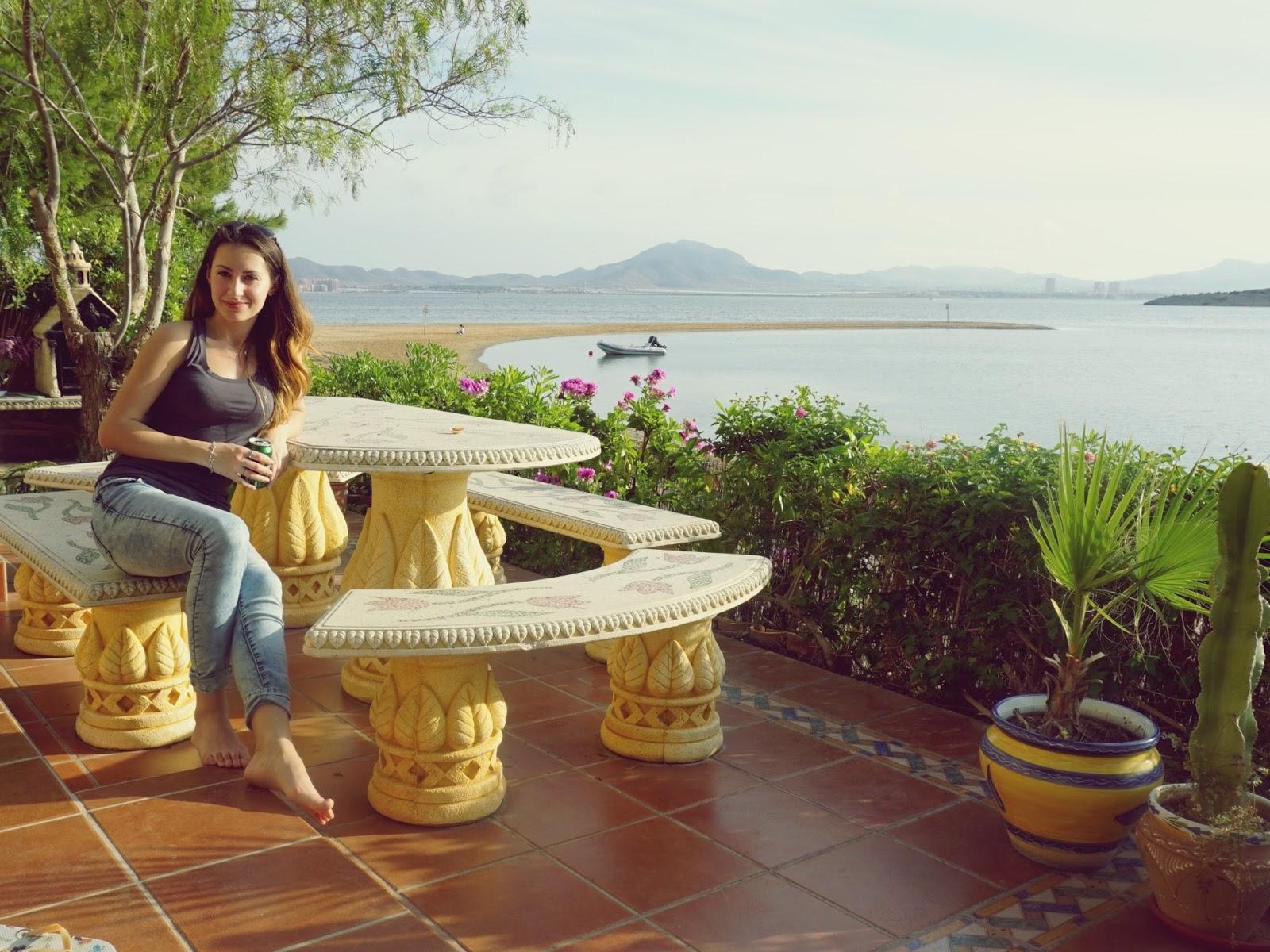 hiszpańskie miasto, La Manga, panidorcia, blog, Hiszpania, podróże, taras, słoneczna Hiszpania