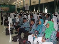 Kloter 3 JCH Kota Palembang Diberangkatkan ke Tanah Suci