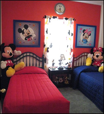 Mickey Mouse bedroom ideas   Minnie Mouse bedroom decorating   Mickey Mouse  bedding   Minnie Mouse. Decorating theme bedrooms   Maries Manor  mickey mouse