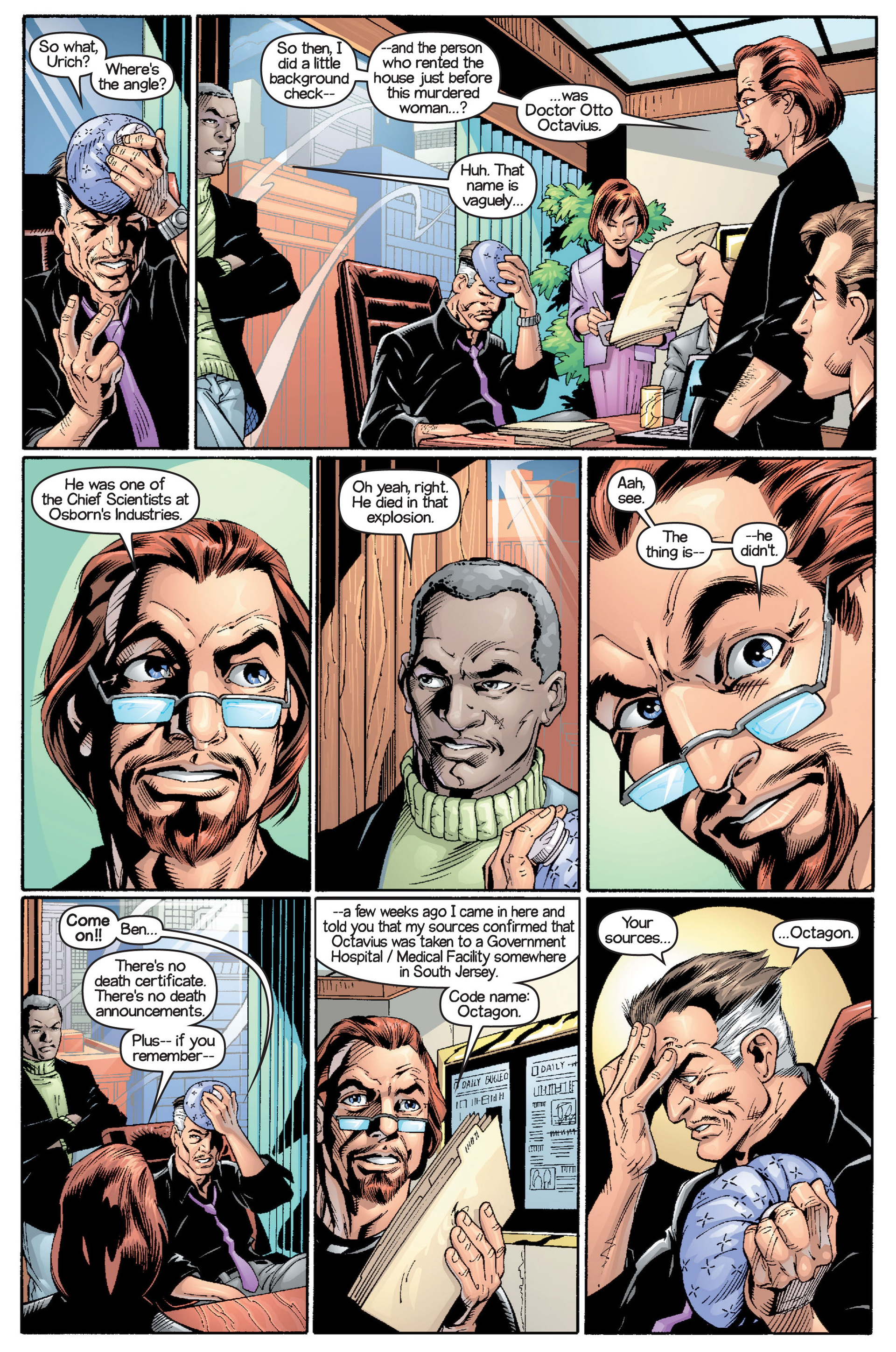 Read online Ultimate Spider-Man (2000) comic -  Issue #15 - 20