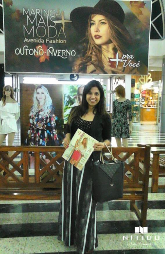 A cantora Gabriela Prado visita a Nítido