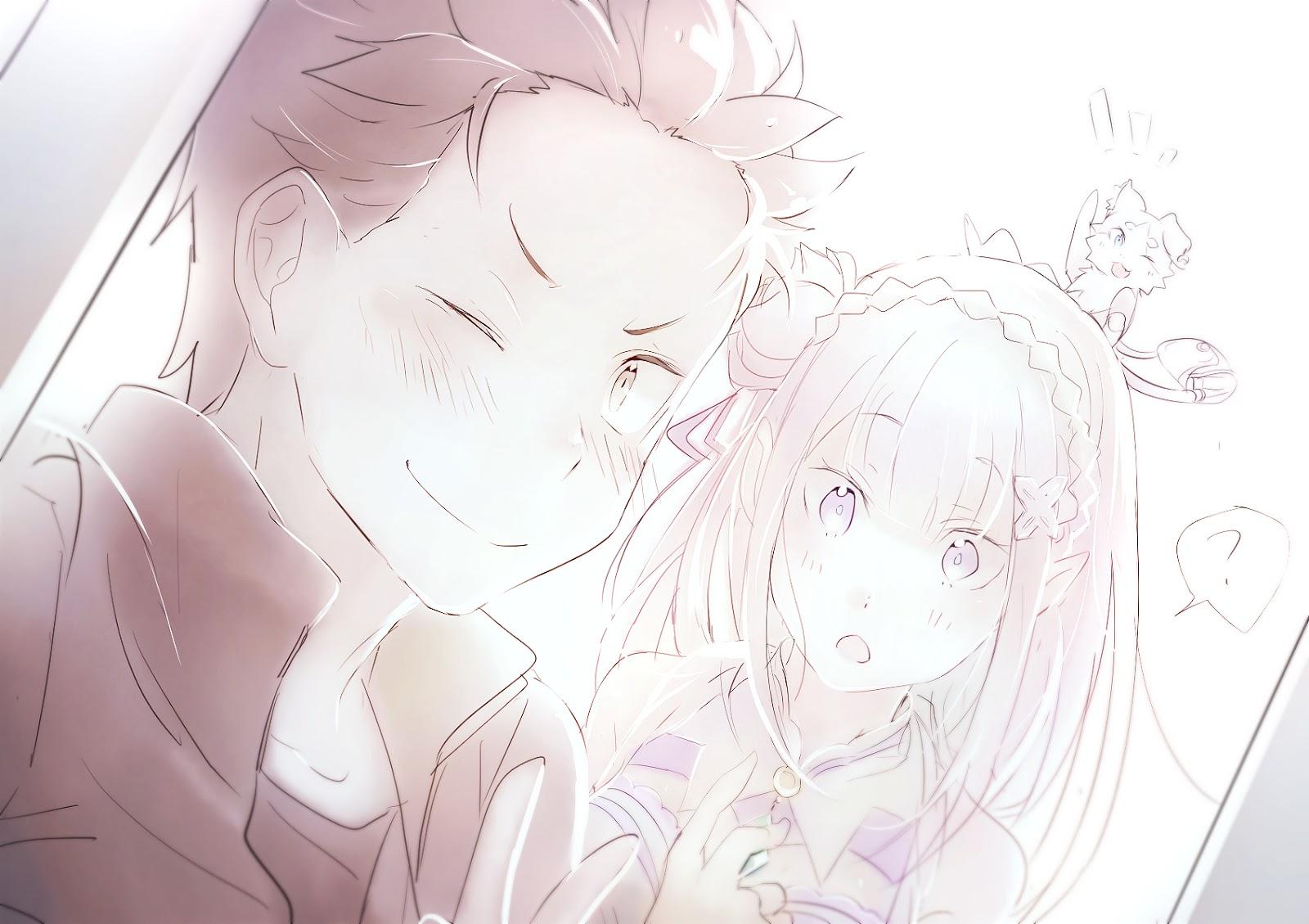 Re:Zero Kara Hajimeru Isekai Seikatsu Emilia and Rem 4
