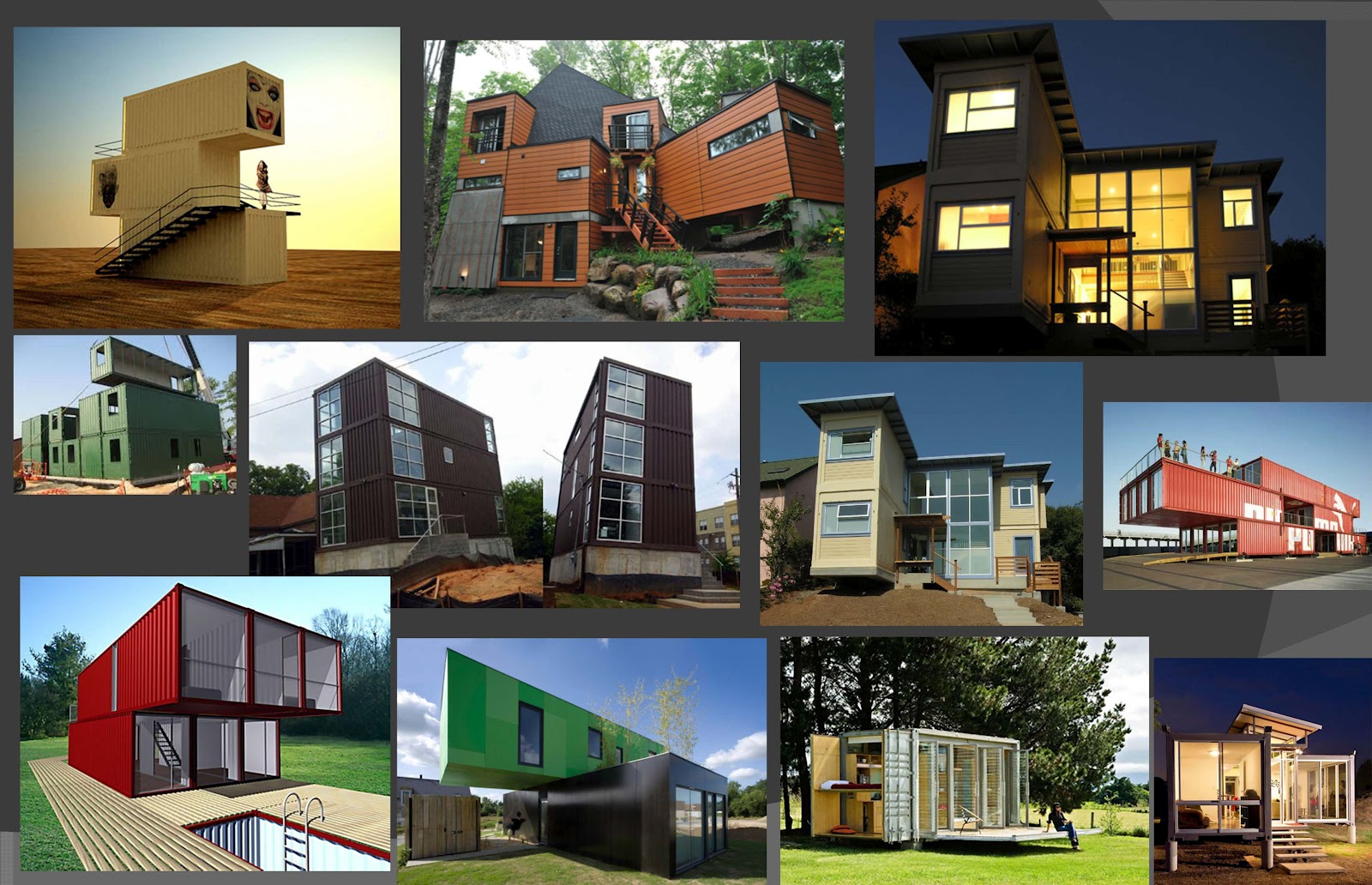 ARCH3511 Design V Fall 2012: Board #1 container home style