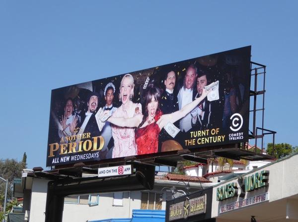 Another Period season 2 billboard