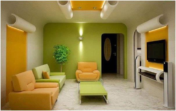 Warna Hijau Segar Merupakan Yang Akan Membuat Ruangan Menjadi Lebih Nyaman Dan Bersih Selain Itu Jika Dikombinasi Dengan Putih