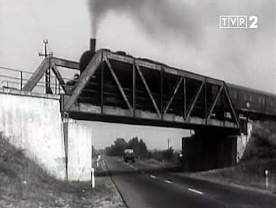 sceny kolejowe wiadukt