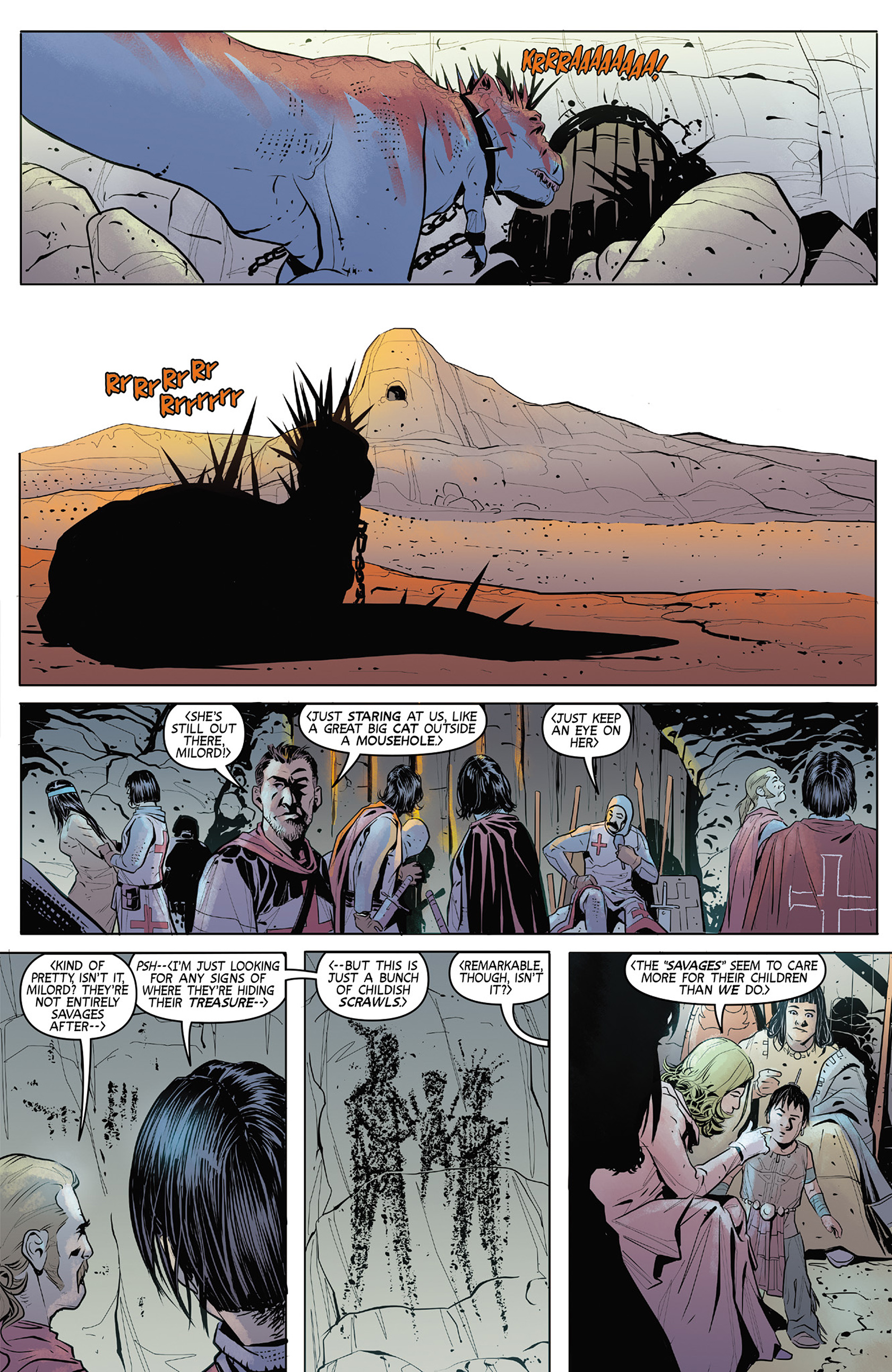 Read online Turok: Dinosaur Hunter (2014) comic -  Issue #4 - 11