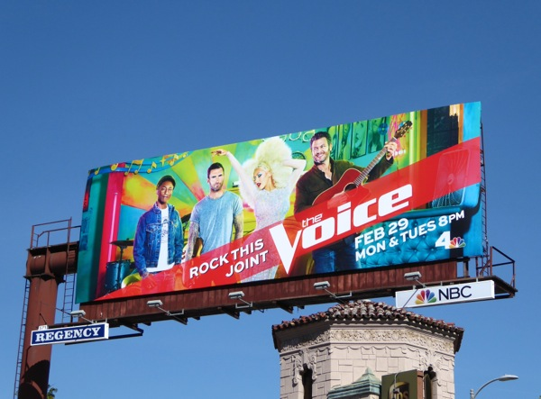 The Voice season 10 Rock this joint billboard