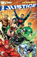 Justice League #1 by Geoff Johns, Jim Lee, Scott Williams, Alex Sinclair, Patrick Brosseau, David Finch, Richard Friend, Peter Steigerwald