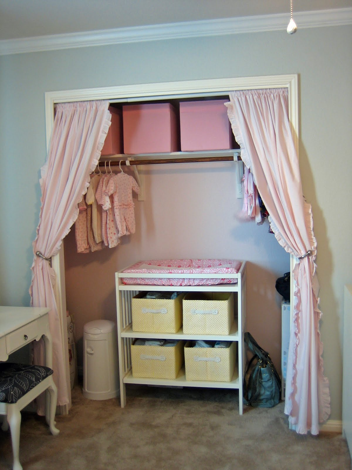 Custom Nursery Art By Kimberly Ikea Gulliver Changing Table