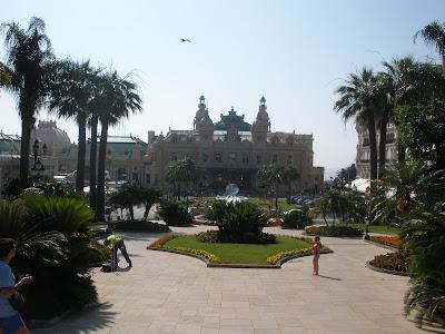 Casino de Montecarlo, famoso por sus grandes fiestas.