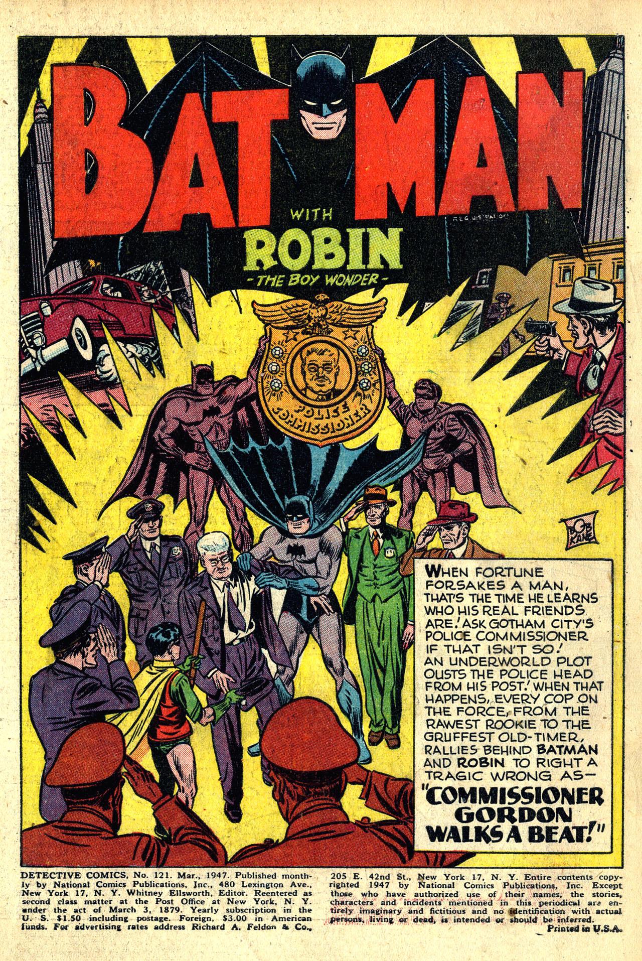Detective Comics (1937) 121 Page 2