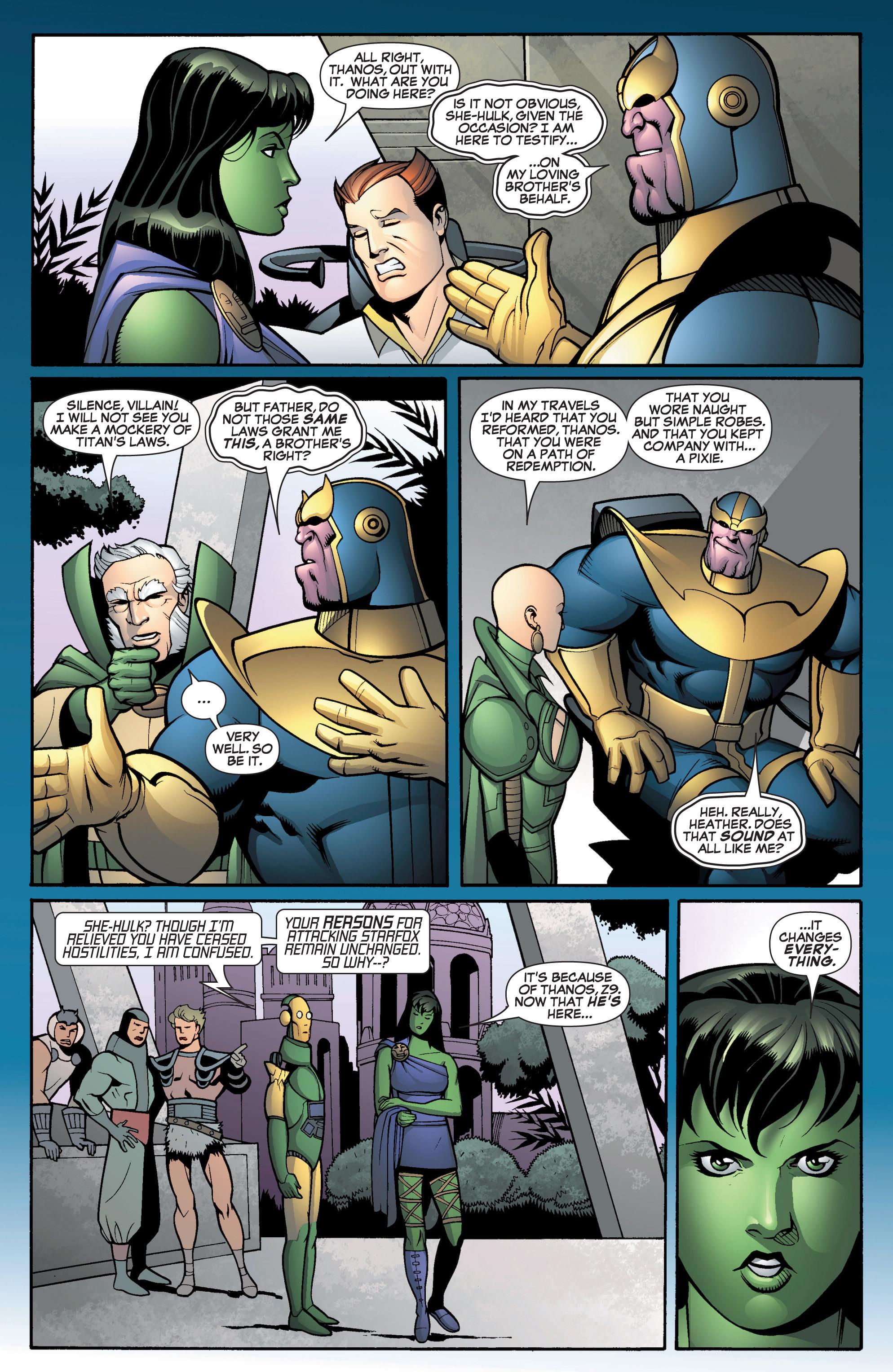 Read online She-Hulk (2005) comic -  Issue #12 - 20