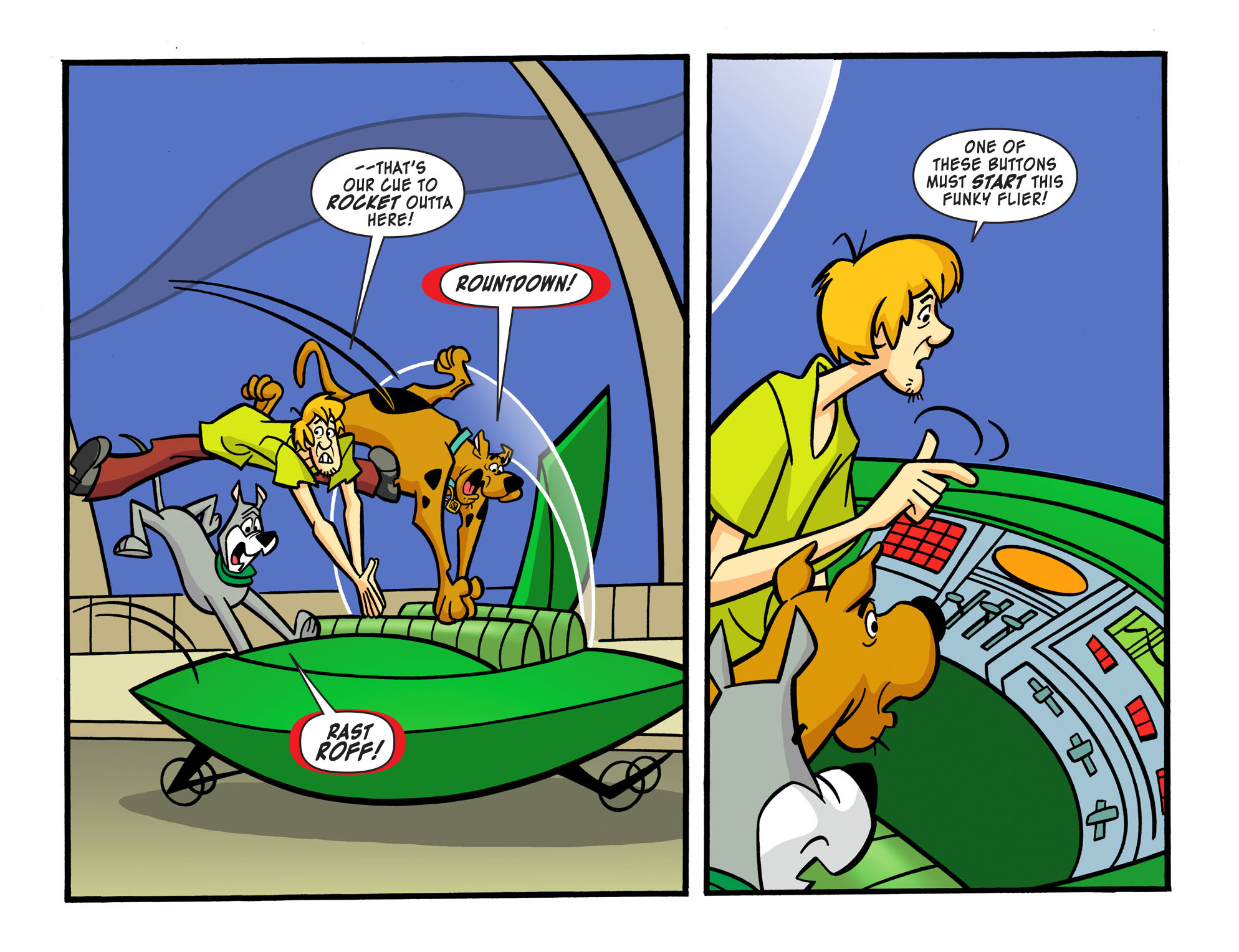 Read online Scooby-Doo! Team-Up comic -  Issue #15 - 19