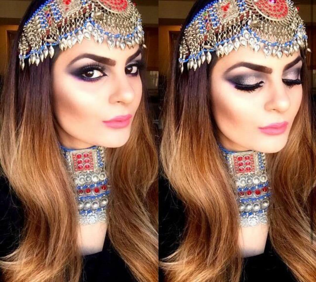 MakeUp with Style: Trendy Afghan Matha patti / Afghani