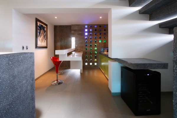 Dise o de residencia contempor nea en lima longhi for Casa minimalista lima