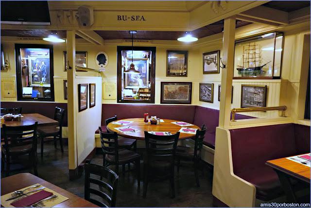 Comedor del Union Oyster House en Boston