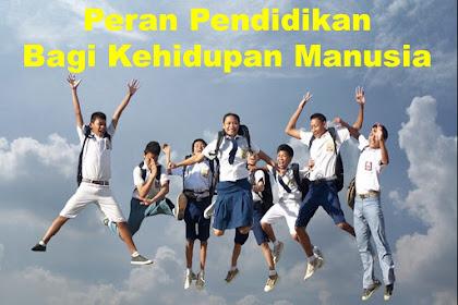 Peran Pendidikan Bagi Kehidupan Manusia