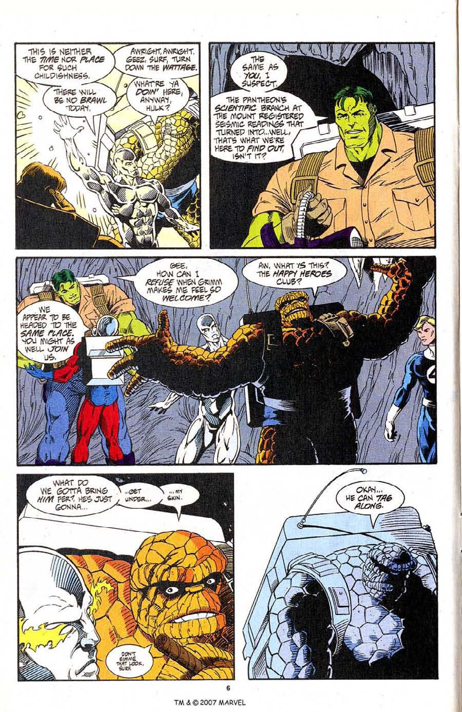 Read online Silver Surfer (1987) comic -  Issue #96 - 8