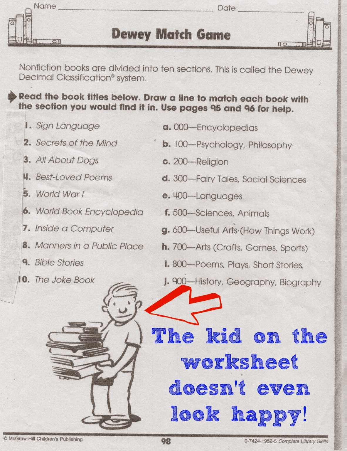 Workbooks world war 1 worksheets : The Absolutely True Adventures of a School Librarian: What's Your ...