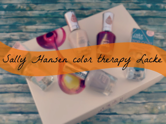 Sally Hansen color therapy Nagellacke