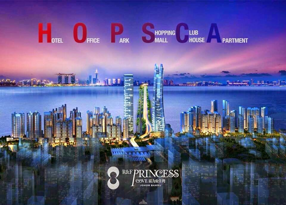 R&F Princess Cove, 富力地产, Iskandar Tanjung Puteri