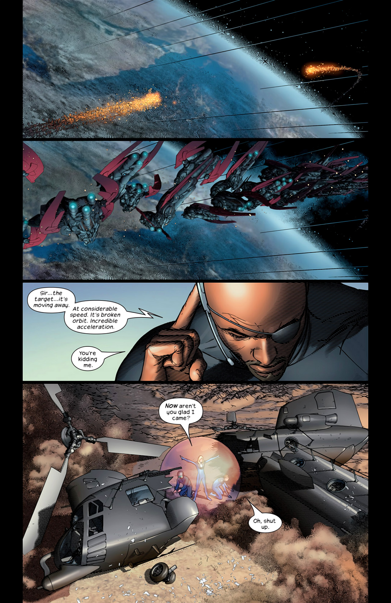 Read online Ultimate Extinction comic -  Issue #5 - 22