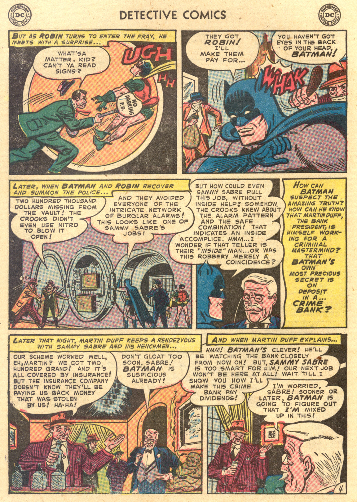 Read online Detective Comics (1937) comic -  Issue #194 - 6