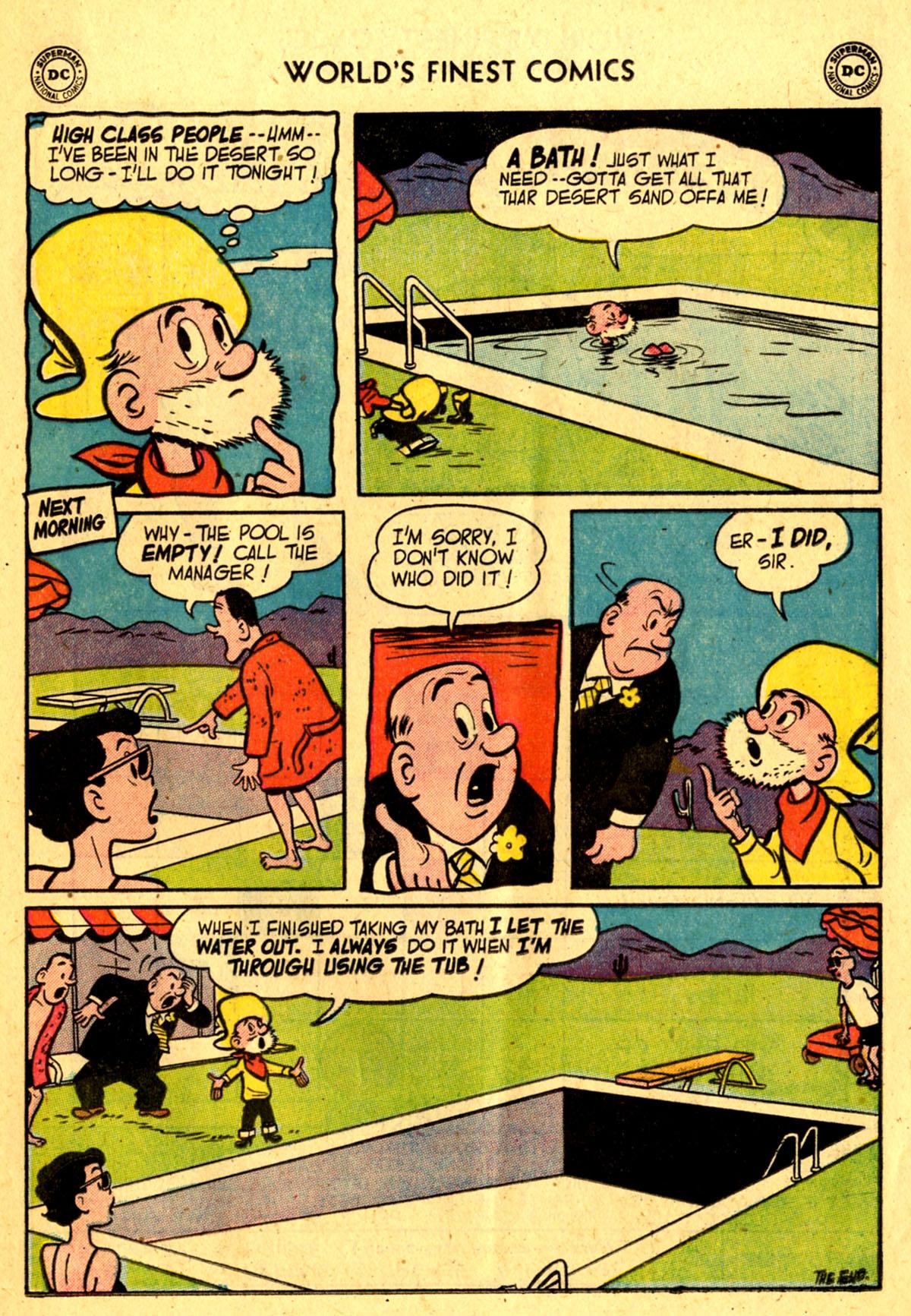 Read online World's Finest Comics comic -  Issue #76 - 17