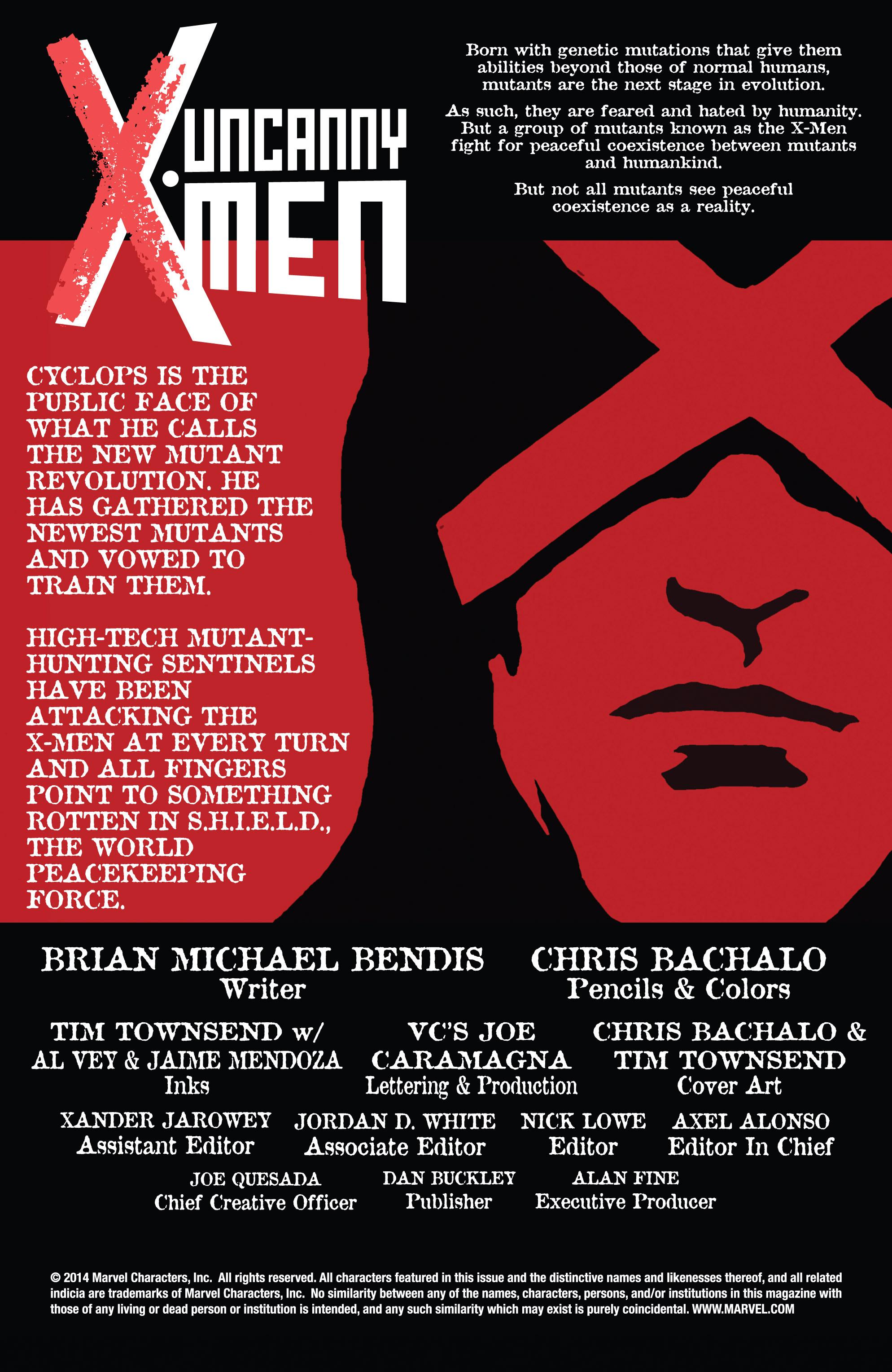 Read online Uncanny X-Men (2013) comic -  Issue #17 - 2