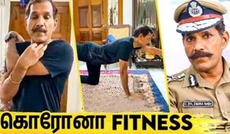 IPS Sylendra Babu's Fitness Tips For Lockdown Days | WHO