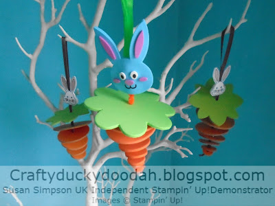 Best Bunny, Craftyduckydoodah!, Easter, Joy of Sets Challenge Blog Hop, Stampin' Up! UK Independent  Demonstrator Susan Simpson, Supplies available 24/7 from my online store,  Easter home decor project,